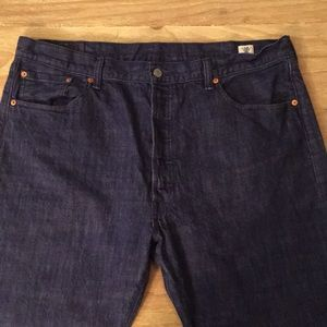 Levis 501 White Oak Cone Denim Jeans Button Fly
